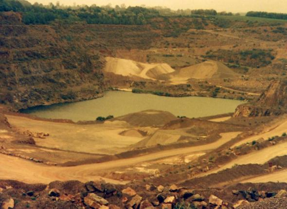 """Generic shot of the quarry/lake"". [view all photos in this album]"